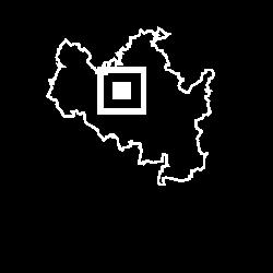 Mapa Rezidence Lužánky