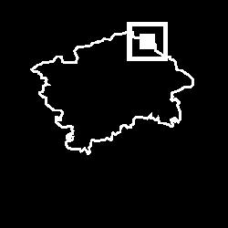 Mapa Přezletice, II. etapa